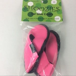 HOT PINK SHOOZIES Tap Dance shoe covers